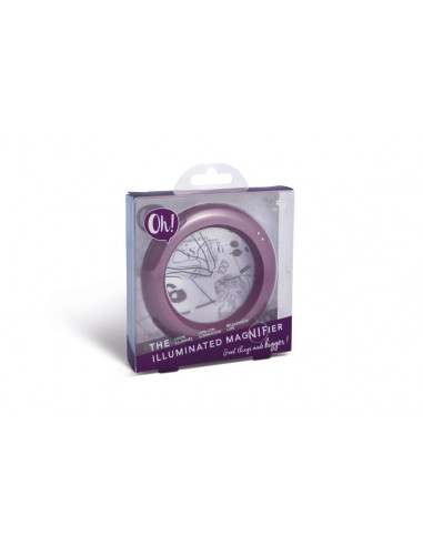 Lupa Oh! The Illuminated Magnifier - Purple Hue