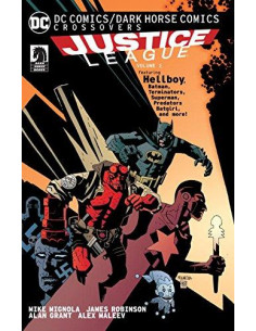 DC Comics Dark Horse Comics Justice League: V1