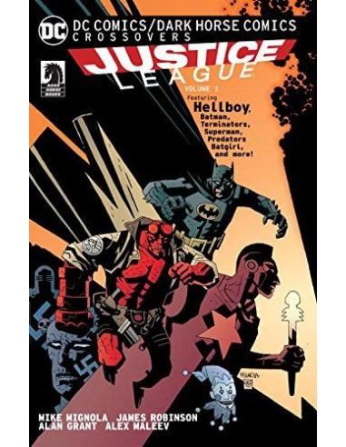 DC Comics Dark Horse Comics Justice League: V1