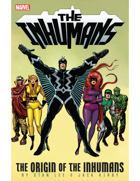 Inhumans. The Origin Of The Inhumans