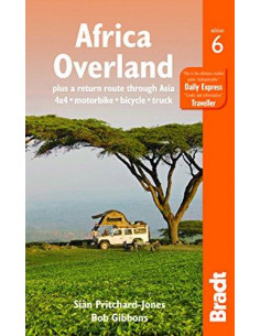 Africa Overland : plus a return route through Asia - 4x4* Motorbike* Bicycle* Truck