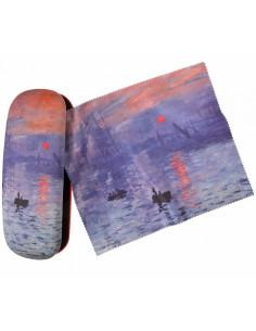 Etui Claude Monet Sonnenuntergang