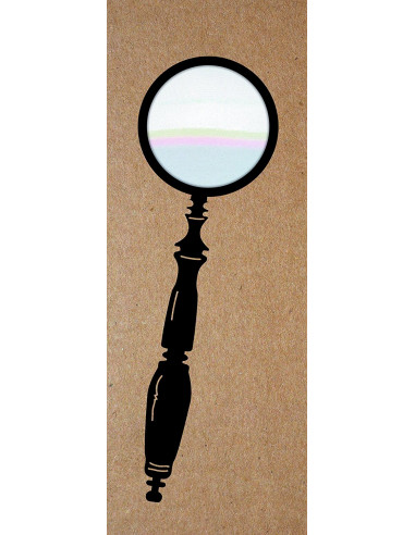 """Lupa """"The Spyglass"""" The Really Useful Magnifying Bookmark"""