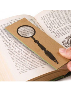 "Lupa ""The Spyglass"" The Really Useful Magnifying Bookmark"