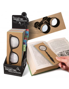 "Lupa  ""The Wayfarers"" The Really Useful Magnifying Bookmark"