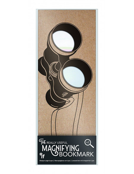 "Lupa ""The Binoculars"" The Really Useful Magnifying Bookmark"