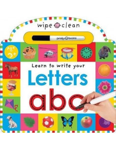 Letters : Wipe Clean Learning