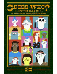 Guess Who? Spot The Bad Guy! : A brain-twisting game for little detectives