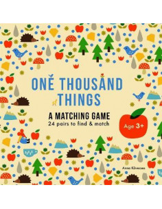 One Thousand Things  Matching Game