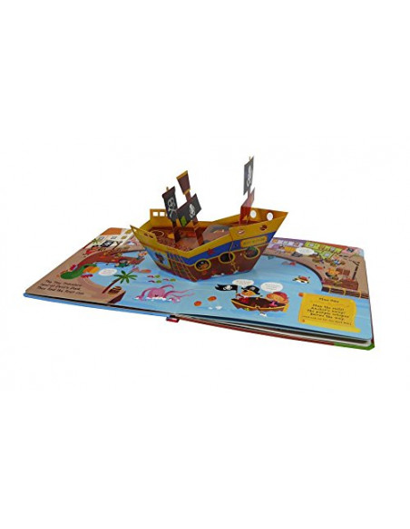 Tiny Travelers: Let's Be... Pirates : With a Pop-Up Pirate Ship