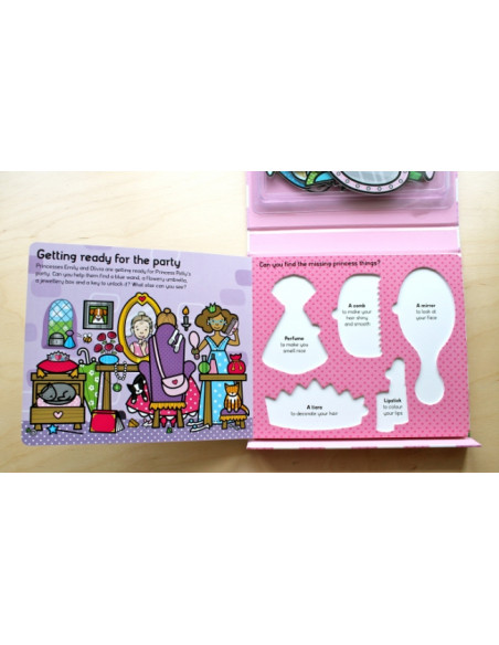 Let's Pretend Princess Party Set : With Book and Press-Out Pieces