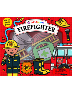 Let's Pretend: Firefighter Set : With Fun Puzzle Pieces
