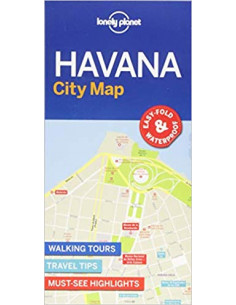 Lonely Planet Havana City Map