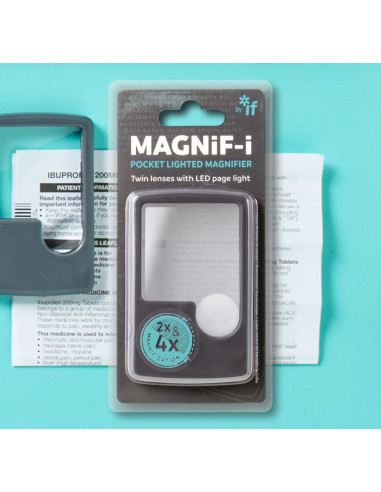Lupa Pocket Lighted Magnifier