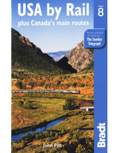USA by Rail : Plus Canada's...