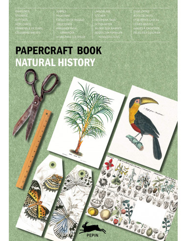Papercraft Book : Natural History