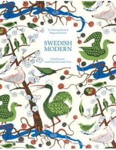 Swedish Modern: A Colouring...